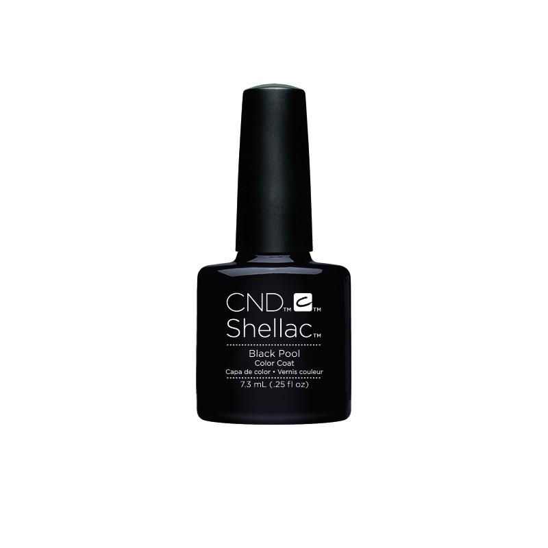 CND - CND SHELLAC GEL VERNIS SEMI PERMANENT 7.3ML - BLACK POOL