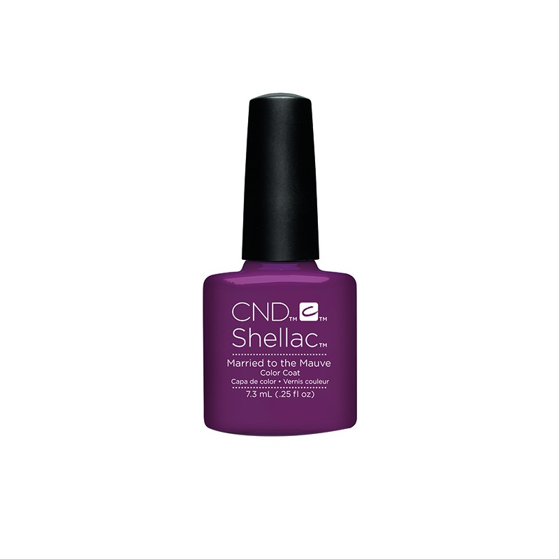 CND - CND SHELLAC GEL VERNIS SEMI PERMANENT 7.3ML - MARRIED TO MAUVE