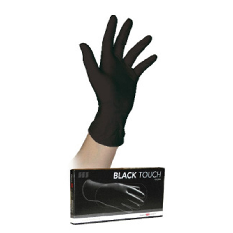 GANT LATEX BLACK TOUCH BOITE DE 10