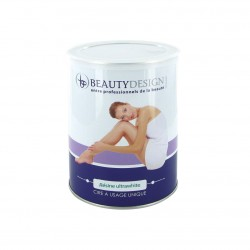 BEAUTY DESIGN - CIRE JETABLE POT ULTRA WHITE 800G