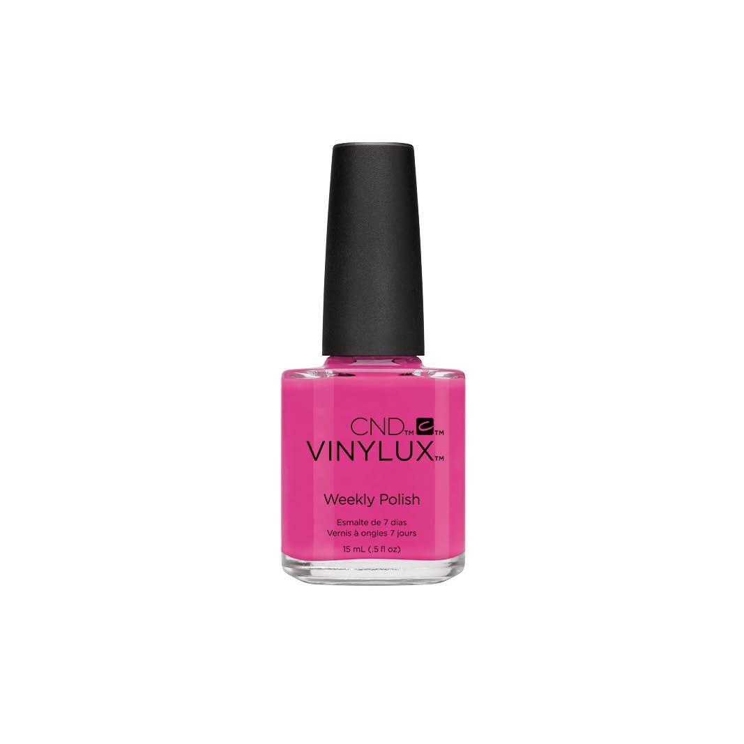 CND - CND VINYLUX VERNIS A ONGLES 15ML - HOT POP PINK #121