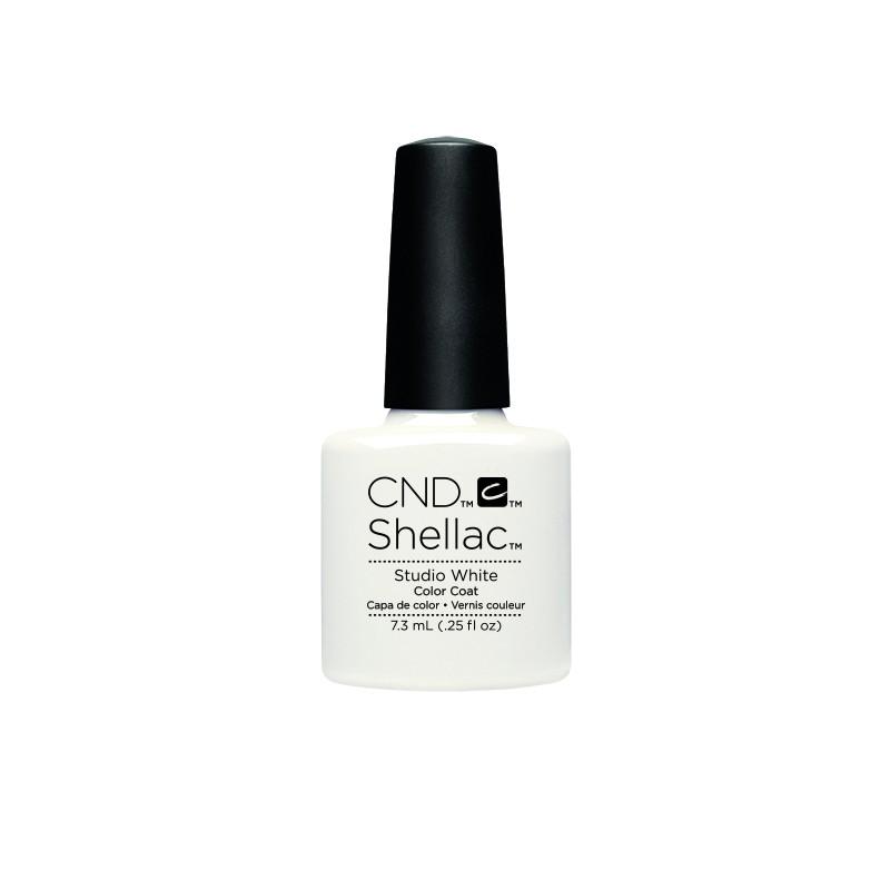 CND - CND SHELLAC GEL VERNIS SEMI PERMANENT 7.3ML - STUDIO WHITE