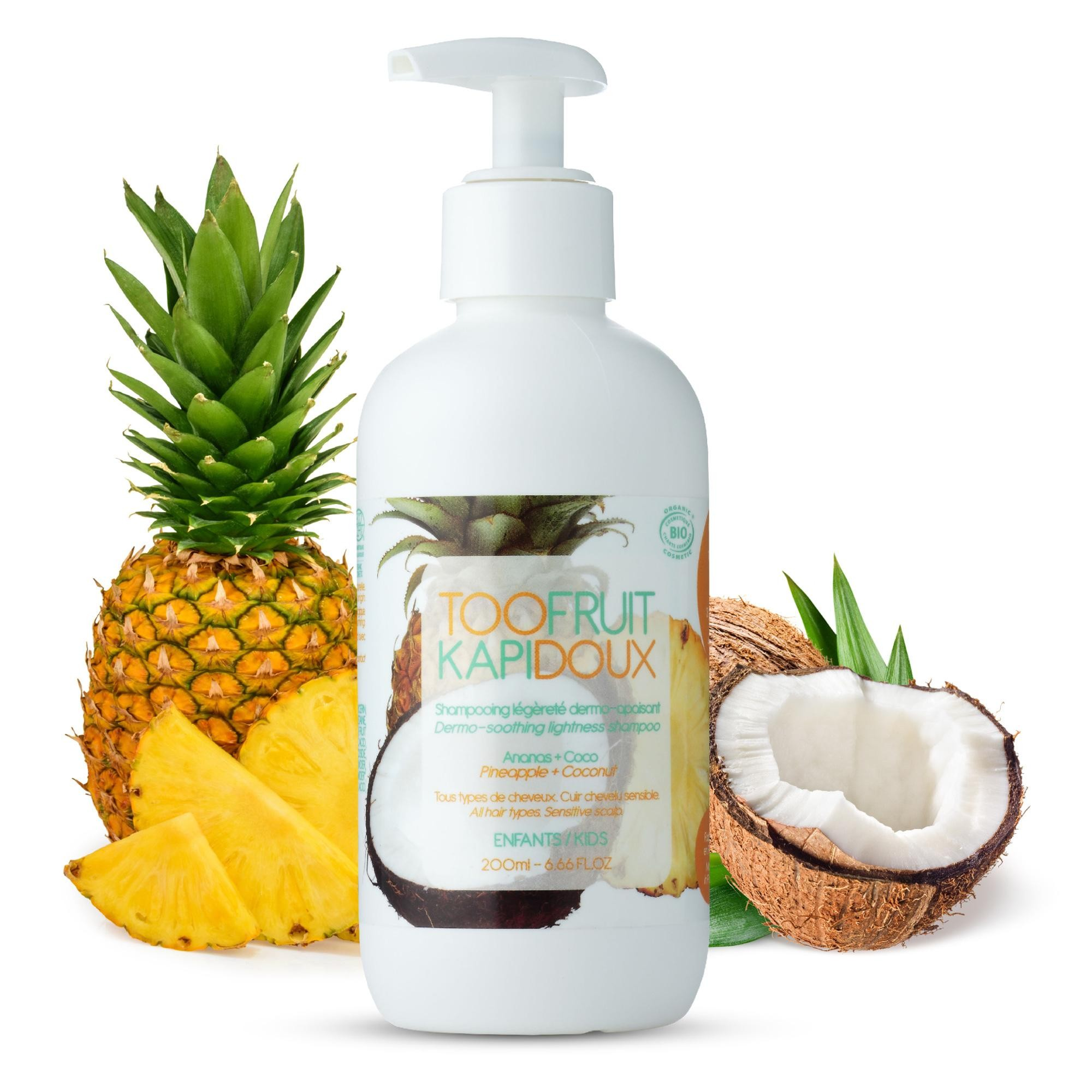 TOOFRUIT - TOOFRUIT SHAMPOOING 200ML - ANANAS COCO