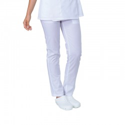 PANTALON JUST COLORIS BLANC
