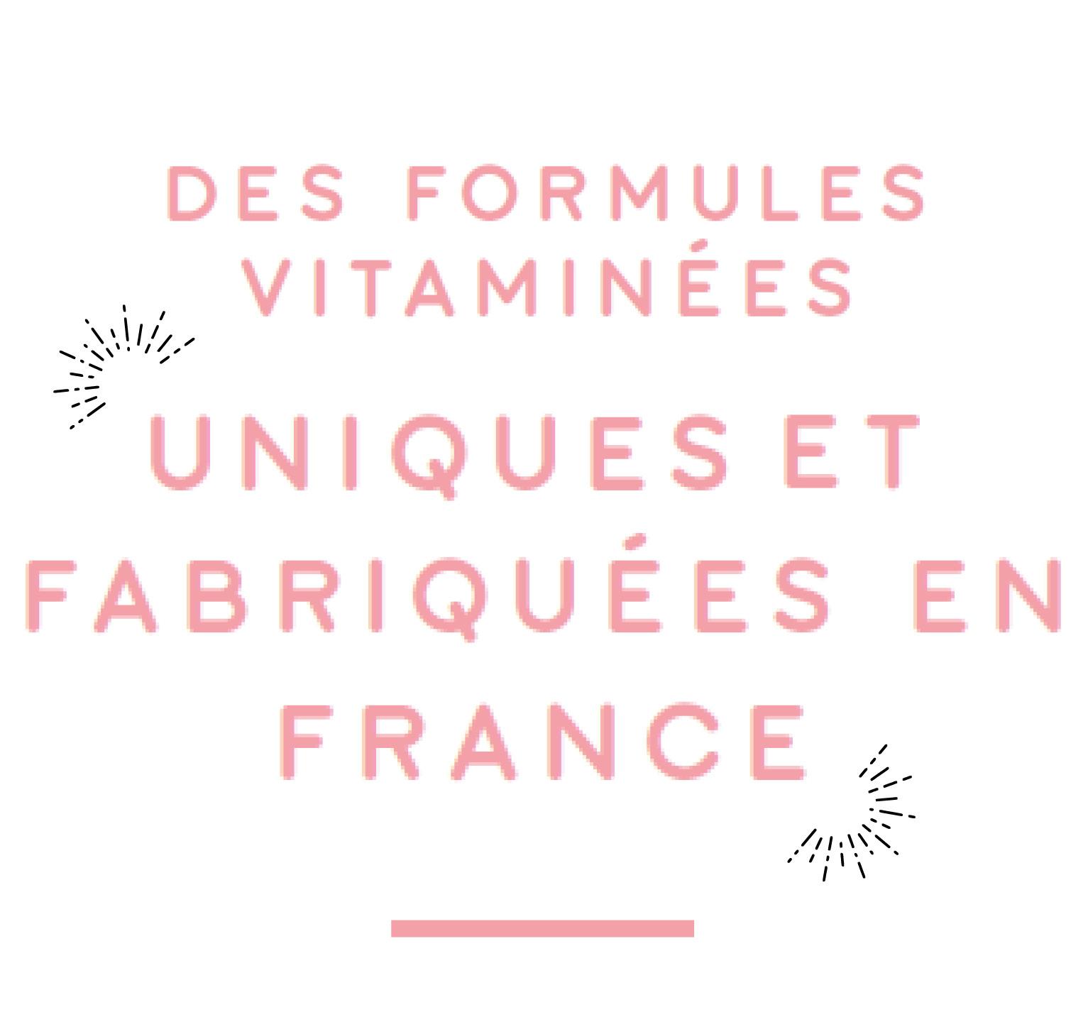 formules vitaminées