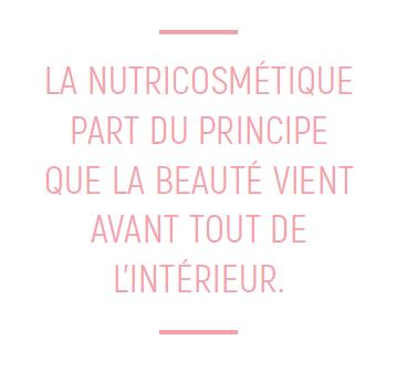 la nutricosmétique