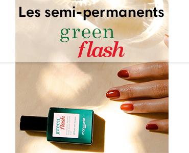 Les vernis semi-permanents Green Flash