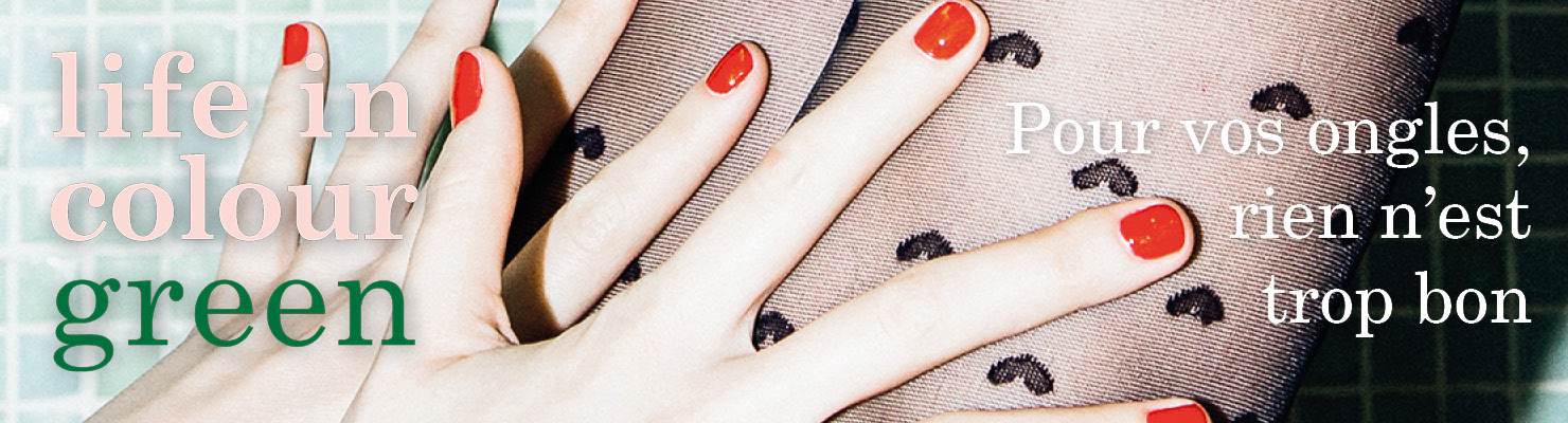 Pour vos ongles, rien n'est trop bon