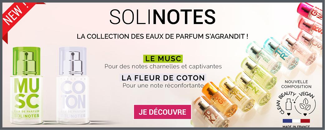 Solinotes Nouvelles Fragrances